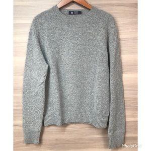J. Crew Factory Lambswool Crew Neck Sweater